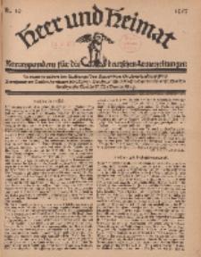 Heer und Heimat : Korrespondenz für die deutschen Armeezeitungen, 1917, Nr 19.