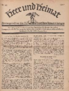 Heer und Heimat : Korrespondenz für die deutschen Armeezeitungen, 1917, Nr 25.
