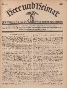 Heer und Heimat : Korrespondenz für die deutschen Armeezeitungen, 1917, Nr 26.