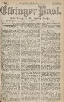 Elbinger Post, Nr.248 Sonnabend 23 October 1875, 2 Jh