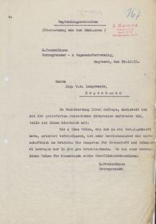 Empfehlungsschreiben ; Wie urteilt der Fachmann über die Leistungsfähigkeit der Deutz-Kemna-Walzen? - reklamy firmy J. Kemna, Braslau