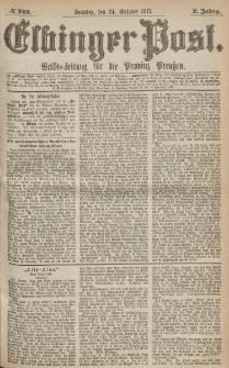 Elbinger Post, Nr.249 Sonntag 24 October 1875, 2 Jh