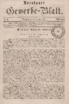 Breslauer Gewerbe-Blatt [...]. VIII. Band. 25. Januar, 1862, Nr. 2.