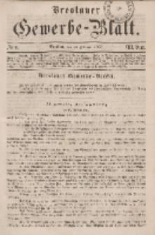 Breslauer Gewerbe-Blatt [...]. VIII. Band. 22. Februar, 1862, Nr. 4.