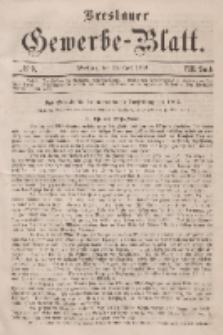 Breslauer Gewerbe-Blatt [...]. VIII. Band. 19. April, 1862, Nr. 8.