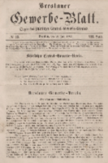Breslauer Gewerbe-Blatt [...]. VIII. Band. 26. Juli, 1862, Nr. 15.