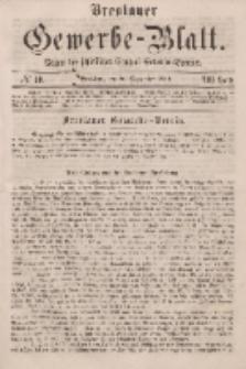 Breslauer Gewerbe-Blatt [...]. VIII. Band. 20. September, 1862, Nr. 19.