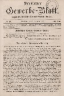 Breslauer Gewerbe-Blatt [...]. VIII. Band. 29. November, 1862, Nr. 24.