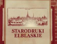 starodruki elbląskie (tytuł wystawy)...20