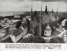Gotyckie zabudowania Wzgórza Katedralnego we Fromborku