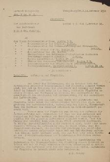 Luftamt Königsberg - Herr Oberbürgermeister Grundstücksamt in Elbing (11.10.1934 r.)
