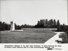 Pomnik poświęcony ofiarom obozu koncentracyjnego w Sztutowie