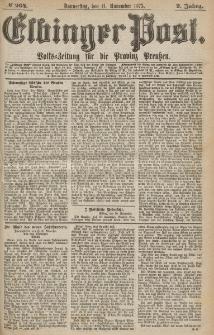Elbinger Post, Nr.264 Donnerstag 11 Nowember 1875, 2 Jh