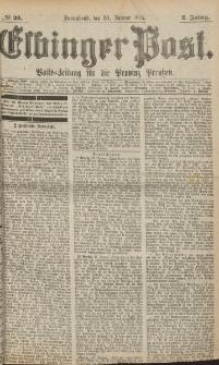 Elbinger Post, Nr. 25, Sonnabend 30 Januar 1875, 2 Jh