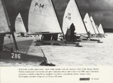 Bojery z Yacht Club Krynica Morska podczas zawodów