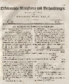 Oekonomische Neuigkeiten und Verhandlungen, 1828, Nr 40.
