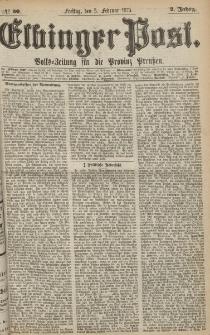 Elbinger Post, Nr. 30, Freitag 5 Februar 1875, 2 Jh