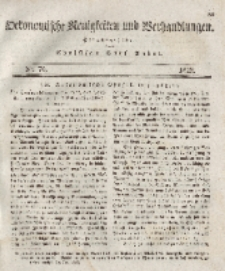 Oekonomische Neuigkeiten und Verhandlungen, 1828, Nr 70.