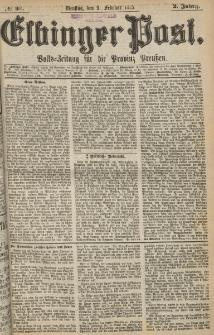 Elbinger Post, Nr. 33, Dienstag 9 Februar 1875, 2 Jh