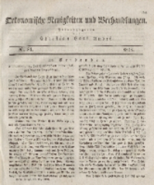 Oekonomische Neuigkeiten und Verhandlungen, 1828, Nr 81.
