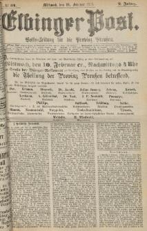 Elbinger Post, Nr. 34, Mittwoch 10 Februar 1875, 2 Jh