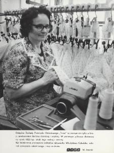 """Produkcja wyrobów odzieżowych zakładów """"Truso"""""""