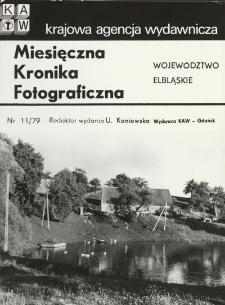 Gospodarstwo wiejskie nad stawem w województwie elbląskim