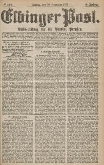 Elbinger Post, Nr.280 Dienstag 30 Nowember 1875, 2 Jh