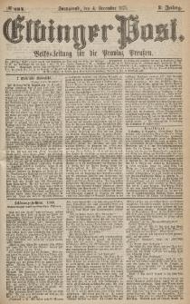 Elbinger Post, Nr.284 Sonnabend 4 Dezember 1875, 2 Jh