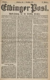 Elbinger Post, Nr.285 Sonntag 5 Dezember 1875, 2 Jh