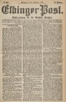 Elbinger Post, Nr.287 Mittwoch 8 Dezember 1875, 2 Jh