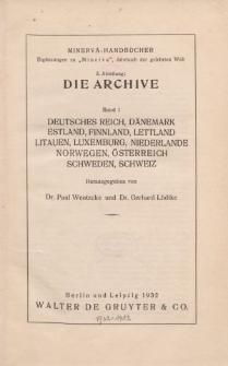 Minerva-Handbücher