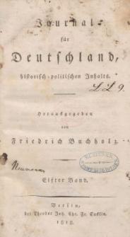 Journal für Deutschland, historisch, politischen Inhalts, 1818, Bd. 11.