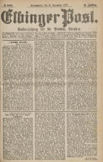 Elbinger Post, Nr.290 Sonnabend 11 Dezember 1875, 2 Jh