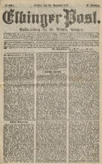 Elbinger Post, Nr.301 Freitaf 24 Dezember 1875, 2 Jh