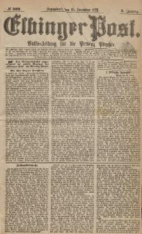 Elbinger Post, Nr.302 Sonnabend 25 Dezember 1875, 2 Jh