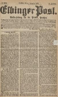 Elbinger Post, Nr.303 Dienstag 28 Dezember 1875, 2 Jh