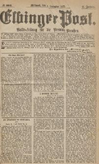 Elbinger Post, Nr.304 Mittwoch 29 Dezember 1875, 2 Jh