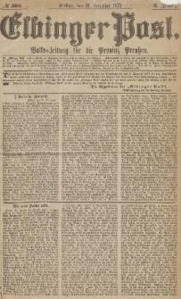 Elbinger Post, Nr.306 Freitag 31 Dezember 1875, 2 Jh