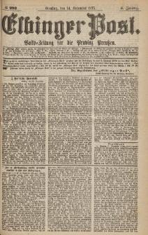 Elbinger Post, Nr.292 Dienstag 2 Dezember 1875, 2 Jh