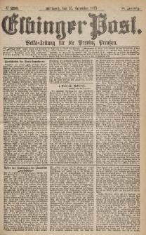Elbinger Post, Nr.293 Mittwoch 15 Dezember 1875, 2 Jh