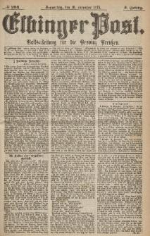 Elbinger Post, Nr.294 Donnerstag 16 Dezember 1875, 2 Jh