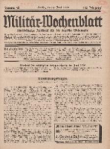 Militär-Wochenblatt : unabhängige Zeitschrift für die deutsche Wehrmacht, 112. Jahrgang, 4. Juni 1928, Nr 45.
