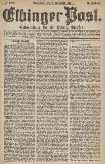 Elbinger Post, Nr.296 Sonnabend 18 Dezember 1875, 2 Jh