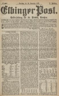Elbinger Post, Nr.297 Sonntag 19 Dezember 1875, 2 Jh