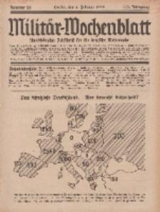 Militär-Wochenblatt : unabhängige Zeitschrift für die deutsche Wehrmacht, 113. Jahrgang, 4. Februar 1929, Nr 29.