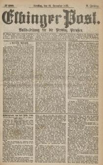 Elbinger Post, Nr.298 Dienstag 21 Dezember 1875, 2 Jh