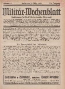 Militär-Wochenblatt : unabhängige Zeitschrift für die deutsche Wehrmacht, 113. Jahrgang, 18. März 1929, Nr 35.