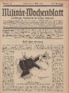 Militär-Wochenblatt : unabhängige Zeitschrift für die deutsche Wehrmacht, 113. Jahrgang, 4. Juni 1929, Nr 45.
