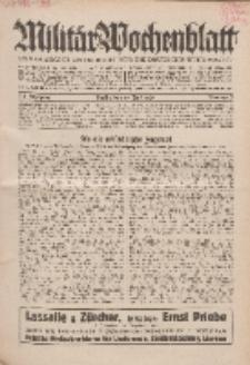 Militär-Wochenblatt : unabhängige Zeitschrift für die deutsche Wehrmacht, 114. Jahrgang, 18. Juli 1929, Nr 3.